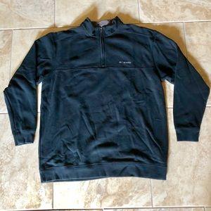 Men's Columbia quarter zip pullover sweater